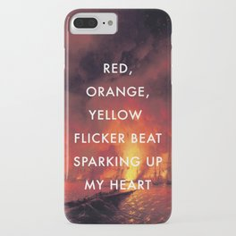 Battle Sparking Up My Heart iPhone Case