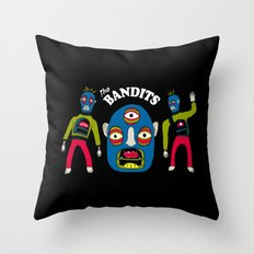 The Bandits Throw Pillow