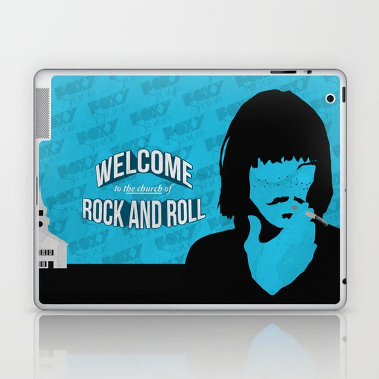 Foxy Shazam - Welcome to the Church of Rock and Roll Laptop & iPad Skin