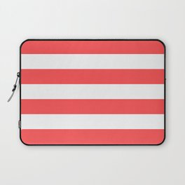 Coral Stripes Laptop Sleeve