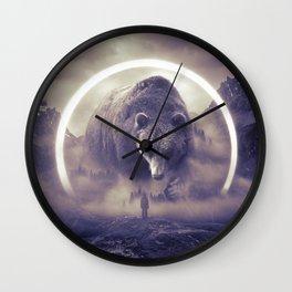 aegis II   bear Wall Clock