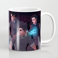 avatar Mugs featuring Team Avatar by aer-dna