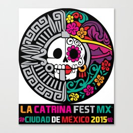 La Catrina Fest MX 2015 Canvas Print
