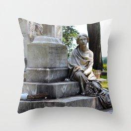 The Sightless Woman Throw Pillow