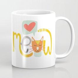 Meow Love Coffee Mug