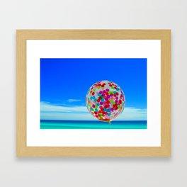 amazeballs Framed Art Print
