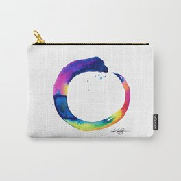 Enso Of Zen No. 16 by Kathy Morton Stanion Carry-All Pouch