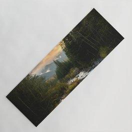 The Sandy River I - nature photography Yoga Mat