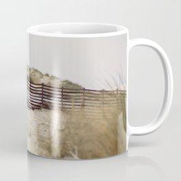 Walking In The Dunes Coffee Mug