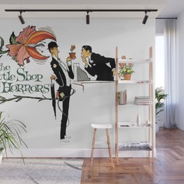 Little Shop Of Horrors, Vintage 1960 Movie Wall Mural