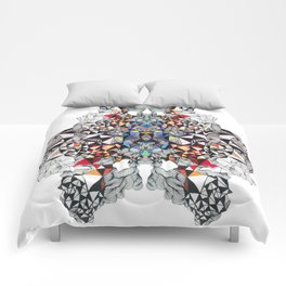 Transformation of triangles No.1 Comforters