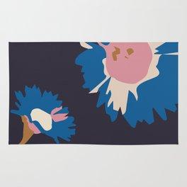 Daisy blue Rug