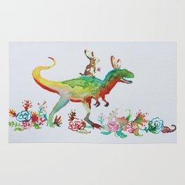 Dino Love Rug