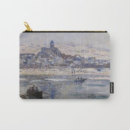 Vétheuil in Winter Carry-All Pouch