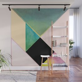 Tangram Square Two Wall Mural