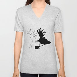 elk shadow Unisex V-Neck