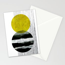 geometric design Stationery Cards