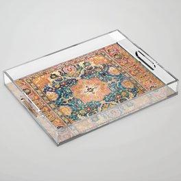 Amritsar Punjab North Indian Rug Print Acrylic Tray