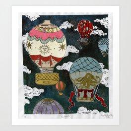 Balloons II Art Print