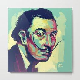 Salvador Dalí Metal Print