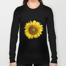 Sunflower - Flower, Floral, Nature Photography Long Sleeve T-shirt