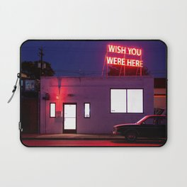 Wish You Were Here Laptop Sleeve