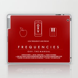 FREQUENCIES LOW FREQUENCY (ZAK - RED) CHARACTER POSTER Laptop & iPad Skin