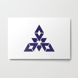 Fukuoka 福岡 Basic Metal Print