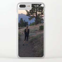 The first time I saw the dawn Clear iPhone Case