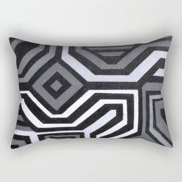 Rouge Black and White Variation Rectangular Pillow