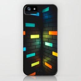Light Bricks iPhone Case