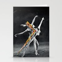ballet Stationery Cards featuring Ballet by Ben Giles