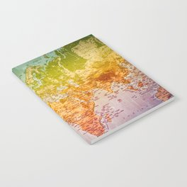 Colorful World Notebook