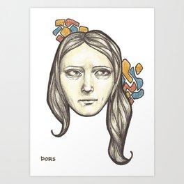Danni Art Print