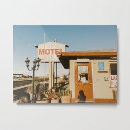 MOTEL / Joshua Tree, California Metal Print