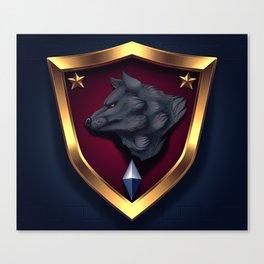 SDF Sirius Platoon Badge Canvas Print