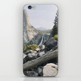 Liberty Cap and Nevada Falls in Morning Light iPhone Skin