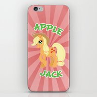 mlp iPhone & iPod Skins featuring MLP FiM: Applejack by Yiji