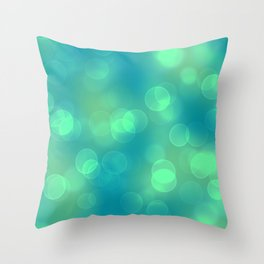 Soft Lights Bokeh 1B Throw Pillow