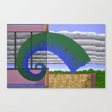 Less Certain Conditions Canvas Print