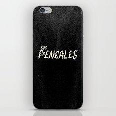 LOS PENCALES iPhone & iPod Skin