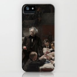 Thomas Eakins - Portrait of Dr Samuel D Gross (The Gross Clinic) iPhone Case