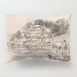 Japanese Serenity Landscape Pillow Sham