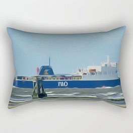 Isle of Man Ferry Rectangular Pillow
