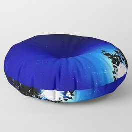 Stars in a day  Floor Pillow