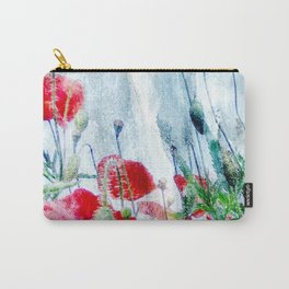 poppy love III Carry-All Pouch