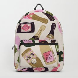 French Champagne Collection – Pink & Green Backpack