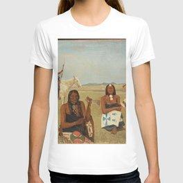 Albert Bierstadt - Indians near Fort Laramie T-shirt