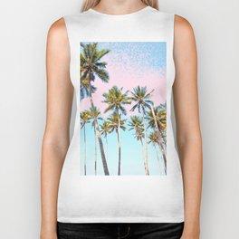 Coconut Palms #society6 #decor #buyart Biker Tank