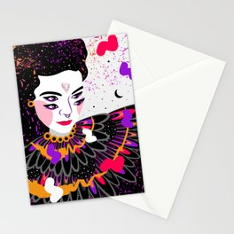 The dreams of Björk Stationery Cards